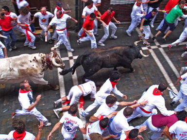 Rainbow Travel Inc - Running of the Bulls